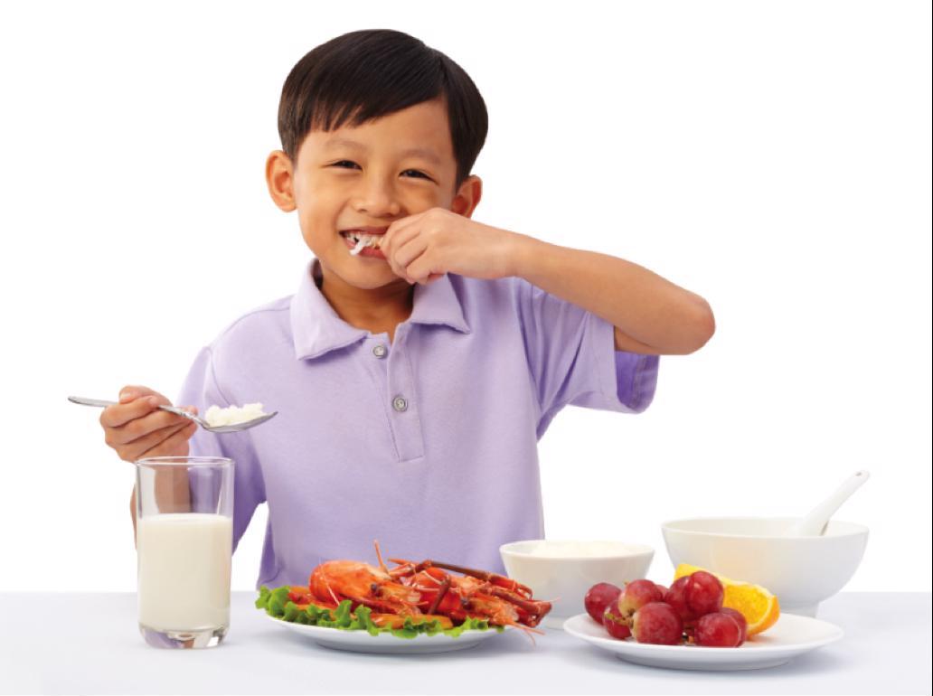 cải thiện sức khỏe cho trẻ hay ốm
